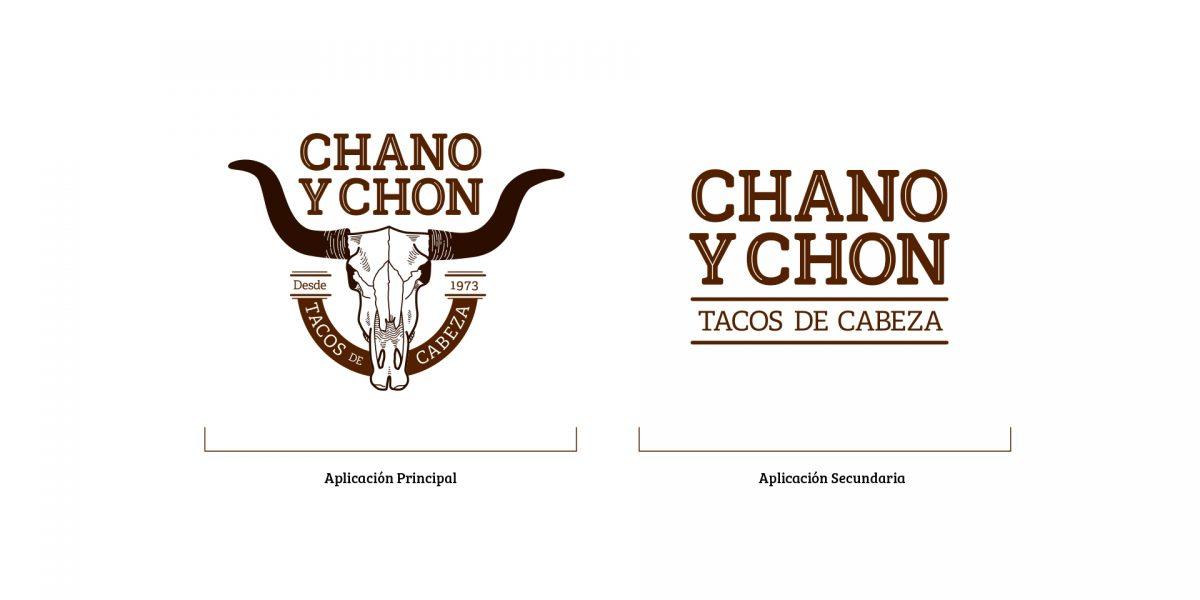 Chano y Chon - logos