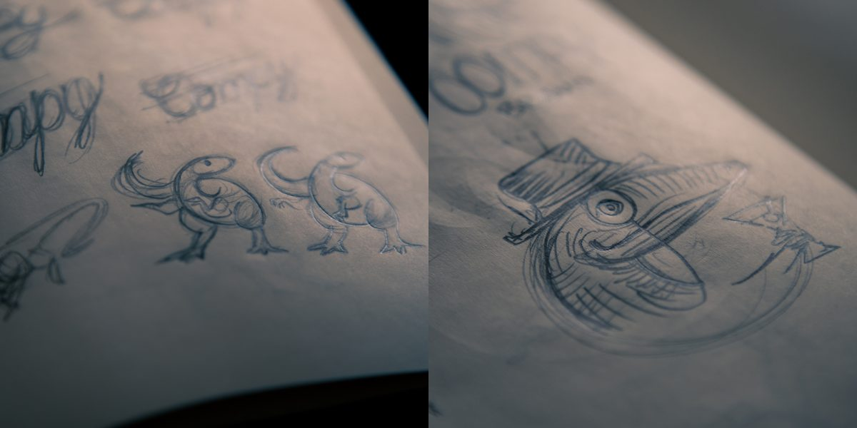 Compy Brand - Bocetos