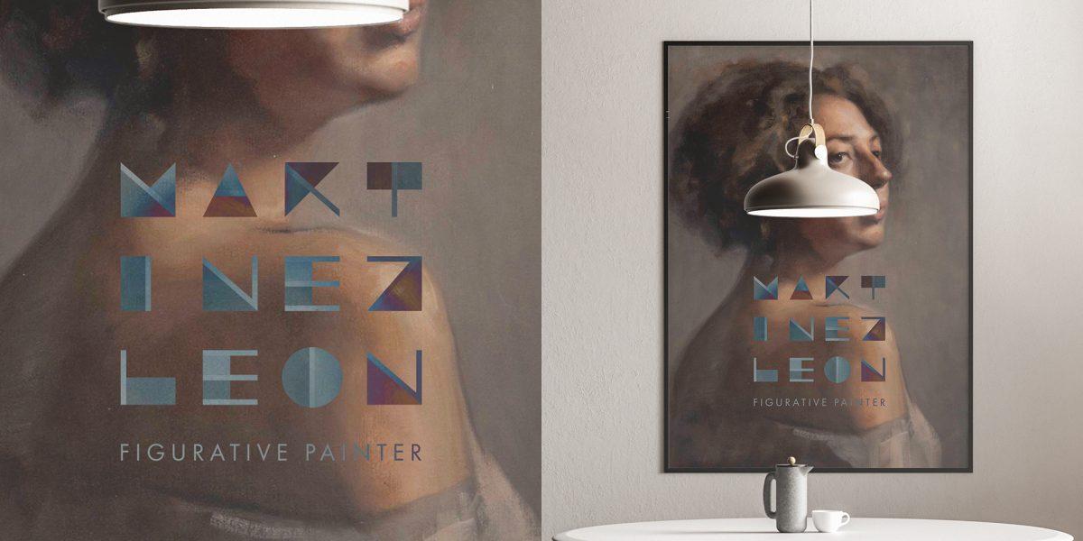 Martínez León - Aplicación sobre pintura