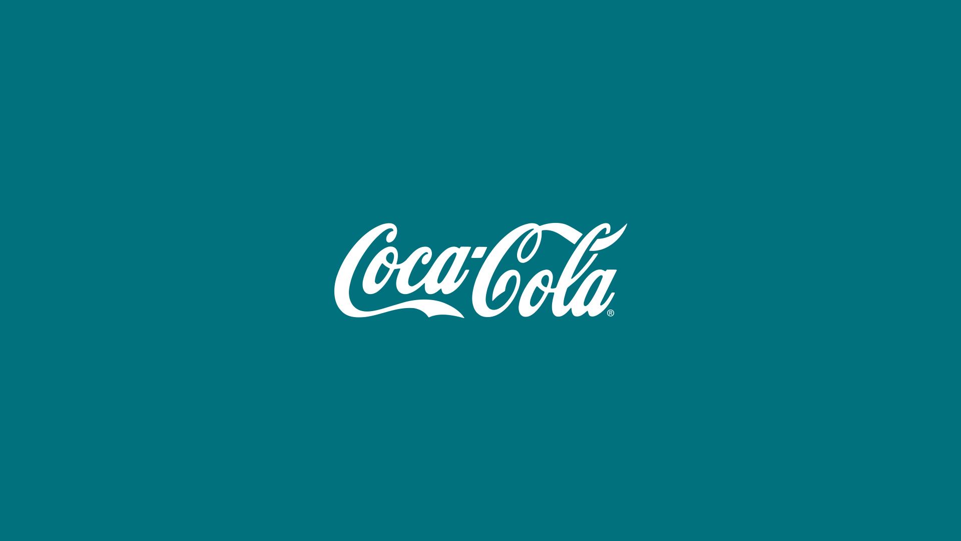 Logo de la marca Coca-Cola